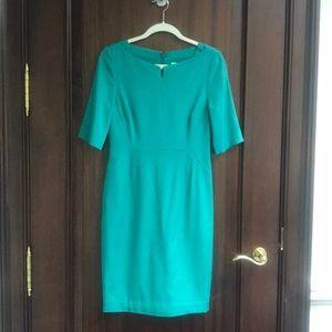 LK Bennet Emerald Dress